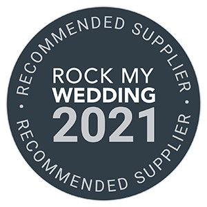 Recommended By Rock My Wedding